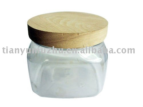 Wooden lid & cover