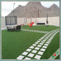 2016 AVG High Quality 11000 Dtex Indoor Outdoor Fake Grass For Yards