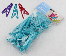 24 pinces linge ;plastic cloth peges clip