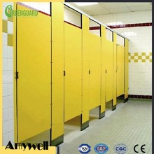 Amywell Top sale waterproof Phenolic bathroom partition HPL toilet partition system