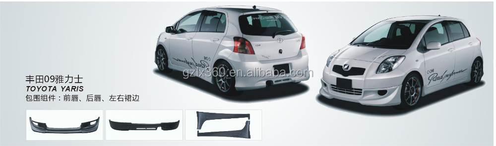 Car bodykits for Toyota YARIS 09-10
