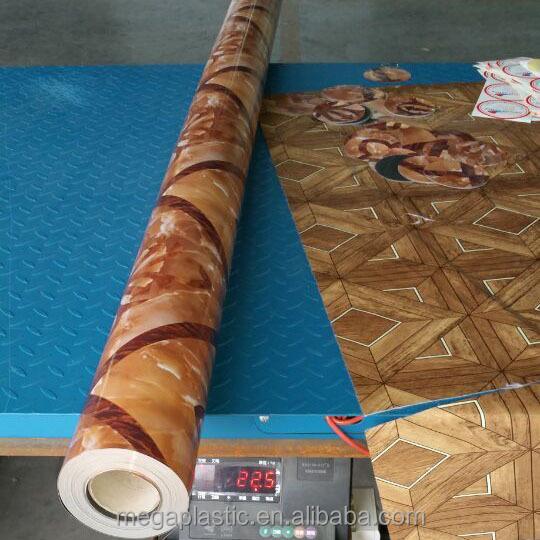 Abrasion resistance pvc plastic floor covering buy pvc for Hard floor covering