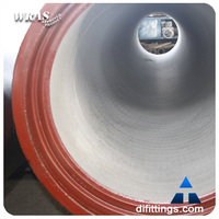 High quality ductile iron pipes with better price K9/K7/C grade
