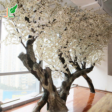 artificial cherry blossom tree without leaves