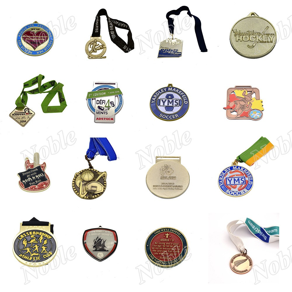 Metal sports custom medals