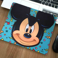 Promotion Custom Cut OEM Carpet Anime Mouse Pad with Disney FAMA Audit
