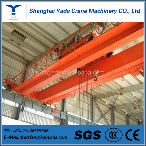 Double girder travelling crane used for workshop