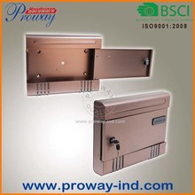 new style aluminum mailbox,letter box
