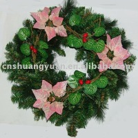 artifical decorative christmas wreath