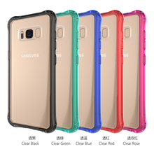 2017 new products clear tpu+acrylic phone accessories case for Samsung s8 s8plus
