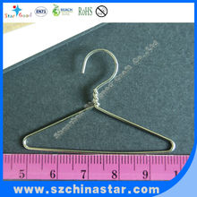 Plastic coated wire small doll clothes hangers