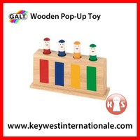 Wooden Pop-up Toy
