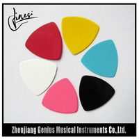 China Supplier Low Cost Colorful Celluloid Guitar Plectrum