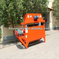 seed and grain selecting dry magnetic separator