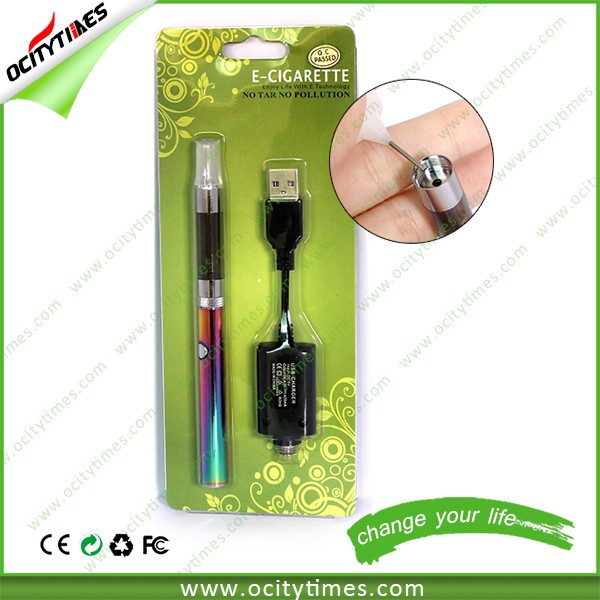 Newest O smart clearomizer & e cig smart pcc O smart blister kit & Vaporizer pen evod mt3 blister kit