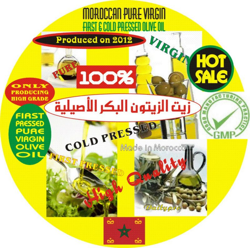 Moroccan 100% Extra Virgin Olive Oil
