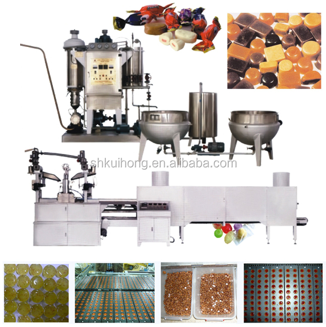 KH candy machinery /hard candy production line / taffy candy making machine