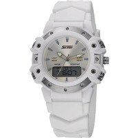 Boys and girls water sport products 3atm water resistant skmei 0821led digital japan quartz dual movement sport men watch