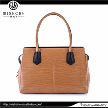 Wishche OEM Factory Wholesale New Fashion High Quality Women Bags Famous Designer Leather Handbags W011