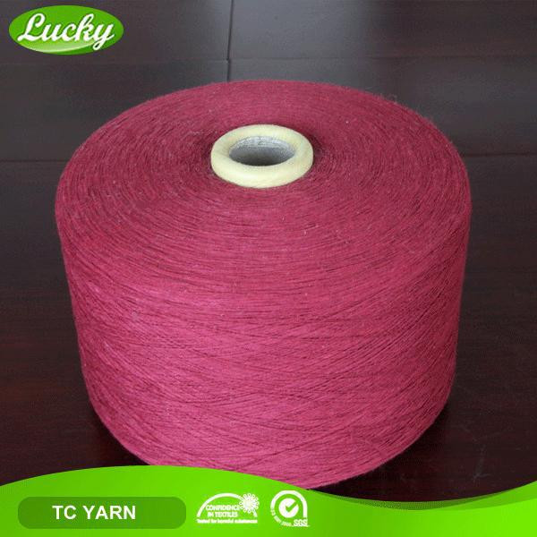 Professional yarn firm low price cotton sock yarn shop