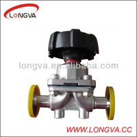 Stainless Manual Diaphragm Valve