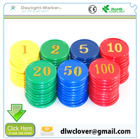 promotional cheap custom replica Personalized token plastic