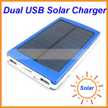 Cell Phone USB 18650 Rechargeable CE ROHS High Level 10000mah Solar Power Charger