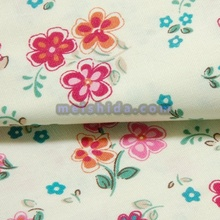 120days LC 100 cotton yarn dyed non woven fabric
