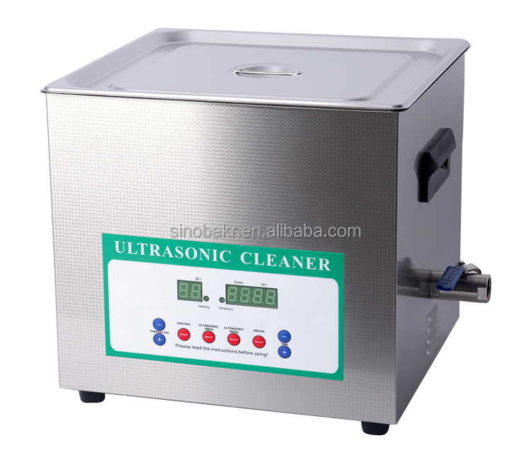 10L diamond and gold ultrasonic cleaner 60khz bk-360B