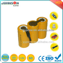 1.2v battery cell Ni-Cd Battery Rechargeable battery aa size