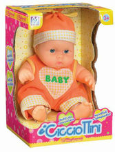 functional lovely fat boy ABS happy high quality baby doll with EN71