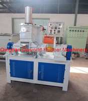 Laborary intensive two roller mixing mill machine / dispersion kneader mixer