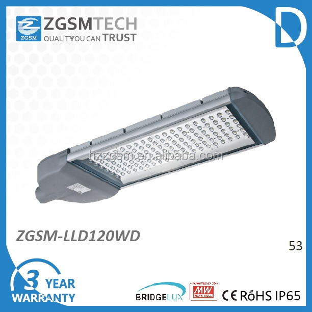 Popular LED public lighting 120W LED Street Lamp with Good Heatsink Excellent Lumen output