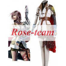 Fantasia Anime Lolita-Best Sale Final Fantasy XIII Lightning Cosplay Costume Game Cosplay Costumes C0082