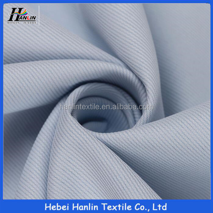High quality blue color cotton 40s 220 gsm t shirt fabric for men
