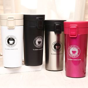 Promotional Custom Stainless Steel Water Bottle Mugs Leak-proof Thermal Bottle Thermocup Fashion Vacuum Flask Cups
