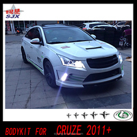 Auto parts bumper for new cruze 2015 PP body kit for Chevy Cruze bodystyling(Front bumper side skirts ,rear bumper)