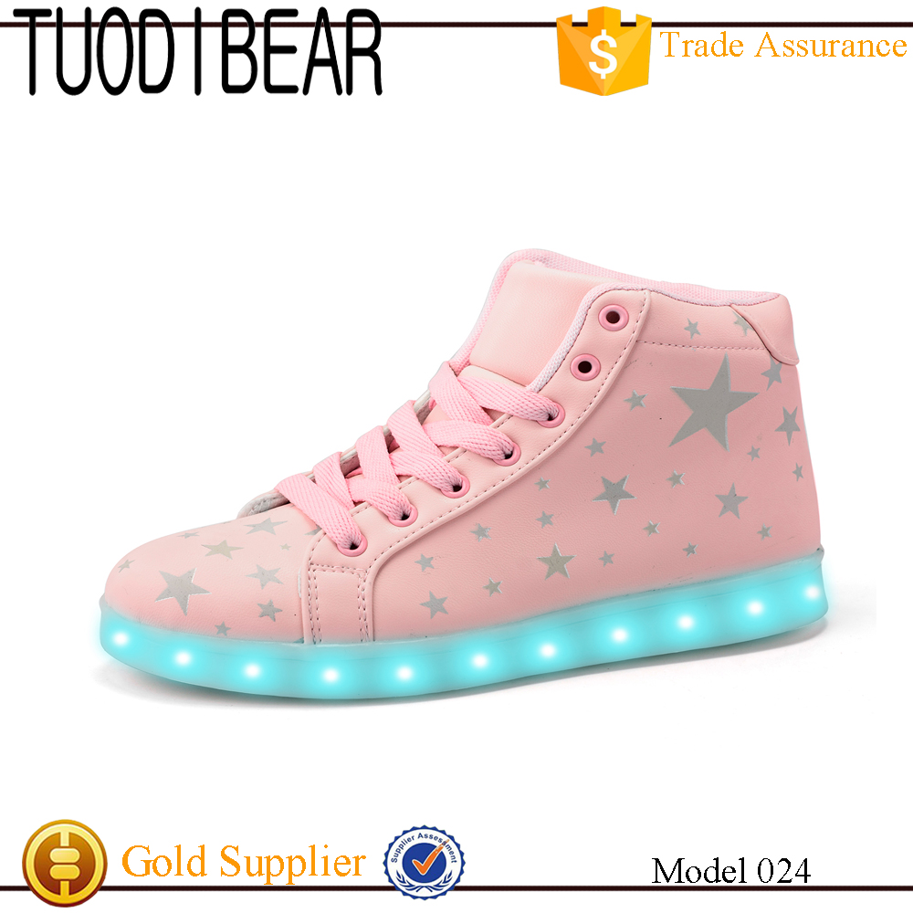 The Newest Led Shoes For Adult Light Up Adult Shoes Women Casual Luminous Shoes for lady Luxury Brand