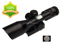Red Green laser sight 2.5-10x40mm RIFLESCOPE with Duplex ReticleRifle scope with green laser sighter
