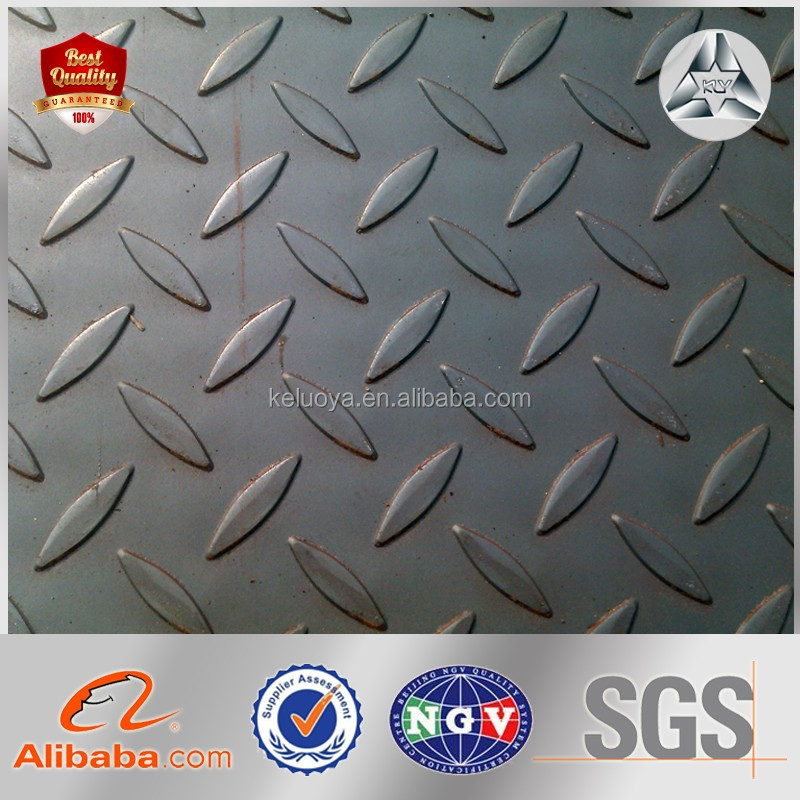 Wholesale Alibaba Chequered Plate Low Carbon Steel Chequered Iron Sheet Chequered Steel Sheet Weight Checkered Plate