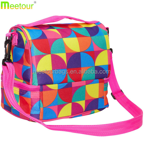 2016 hot sell insulated lunch bag easy to clean lunch bag zippered lunch bag PVC BPA Phthalate free