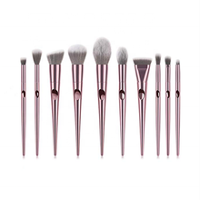 Zoeva 10 Piece Organic Makeup Brush Set Pink With Gorgeous Bag