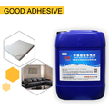 double component type water based spray adhesive for upholstery manufacture
