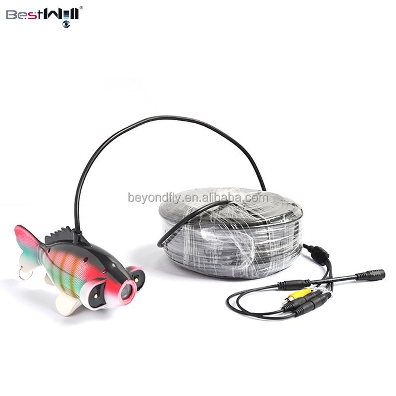 Color CCD underwater fishing camera ice fishing camera CR006J 20m to 300m cable