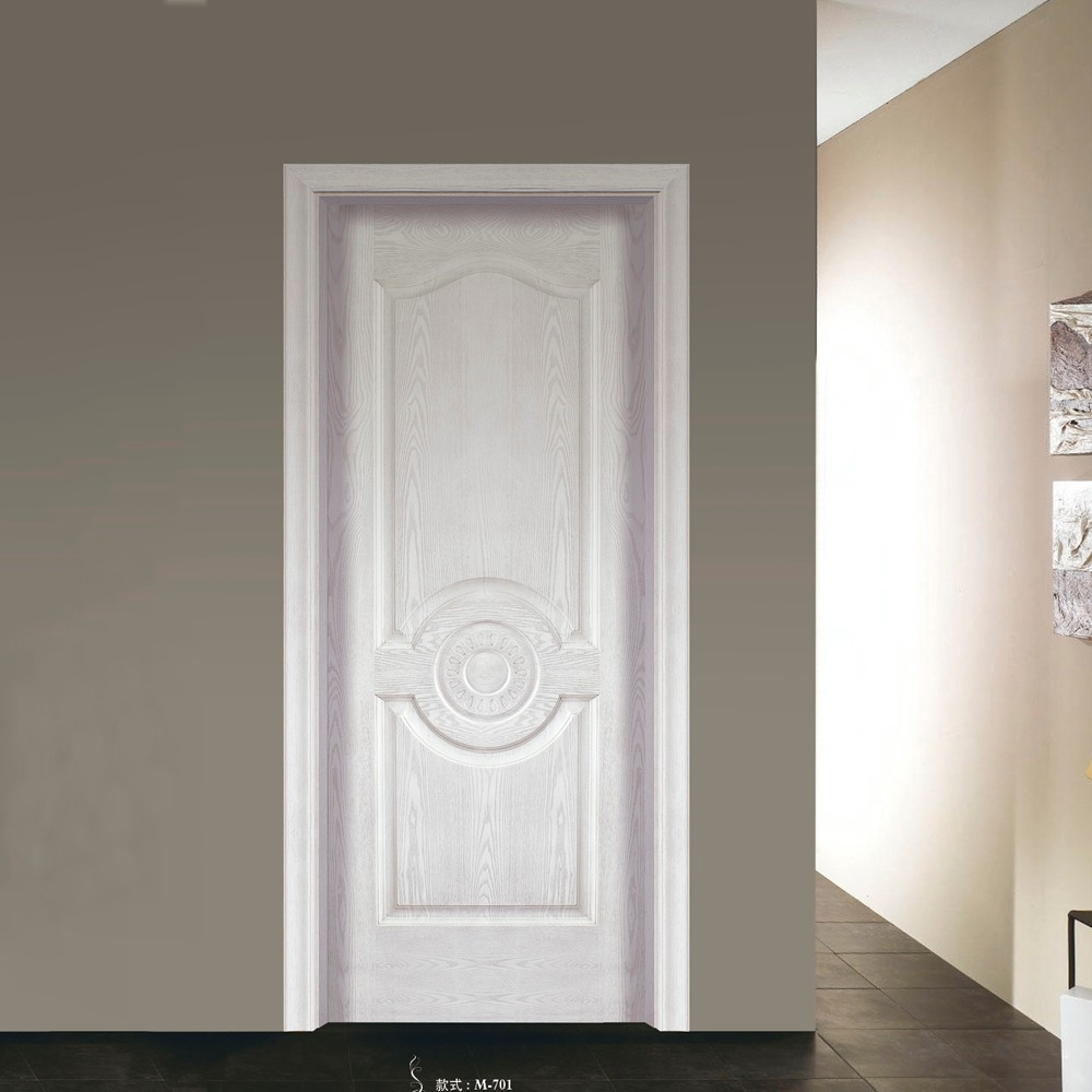 Simple design Factory Price High Quality Painted Molded Wood Panel door for Rooms & Simple Design Factory Price High Quality Painted Molded Wood Panel ... Pezcame.Com