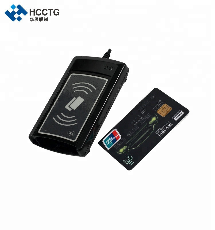 Dual Interface ISO14443 & ISO 7816 PC SC Compliant Smart Card Reader Sam Slot ACR1281U-C1