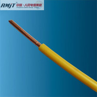 300/500V Copper core pvc insulated house wiring 1mm cable solid single core cable