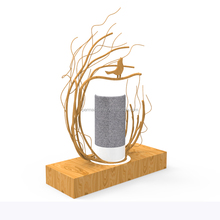 Originality branch counter table bluetooth speaker display stand