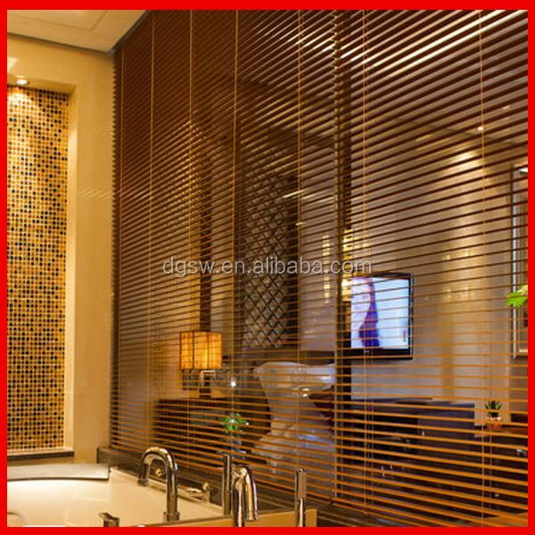 2 sch ne luxus pvc faux holz jalousien blackout fl chenvorh nge als raumteiler fensterladen. Black Bedroom Furniture Sets. Home Design Ideas
