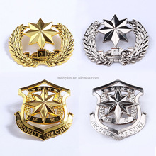custom indian navy metal cap badge